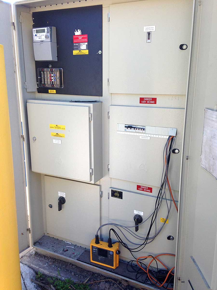 Fluke Power Logger Installed at Nambour Caravan Park