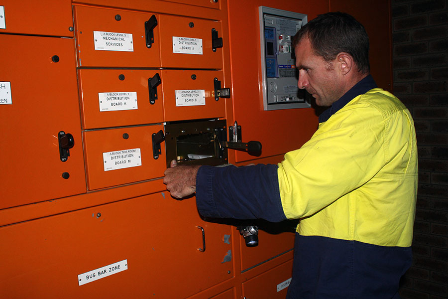 Nambour TAFE - Replacing faulty CFS Unit at the Main Switchboard