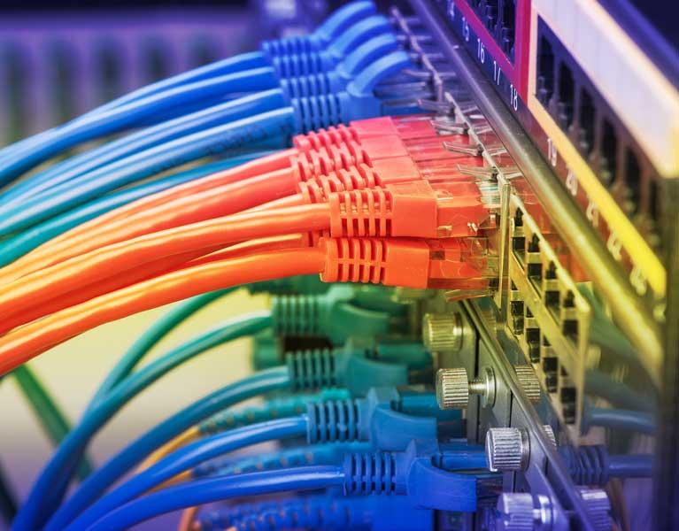 Amos Electrical Sunshine Coast data network cabling