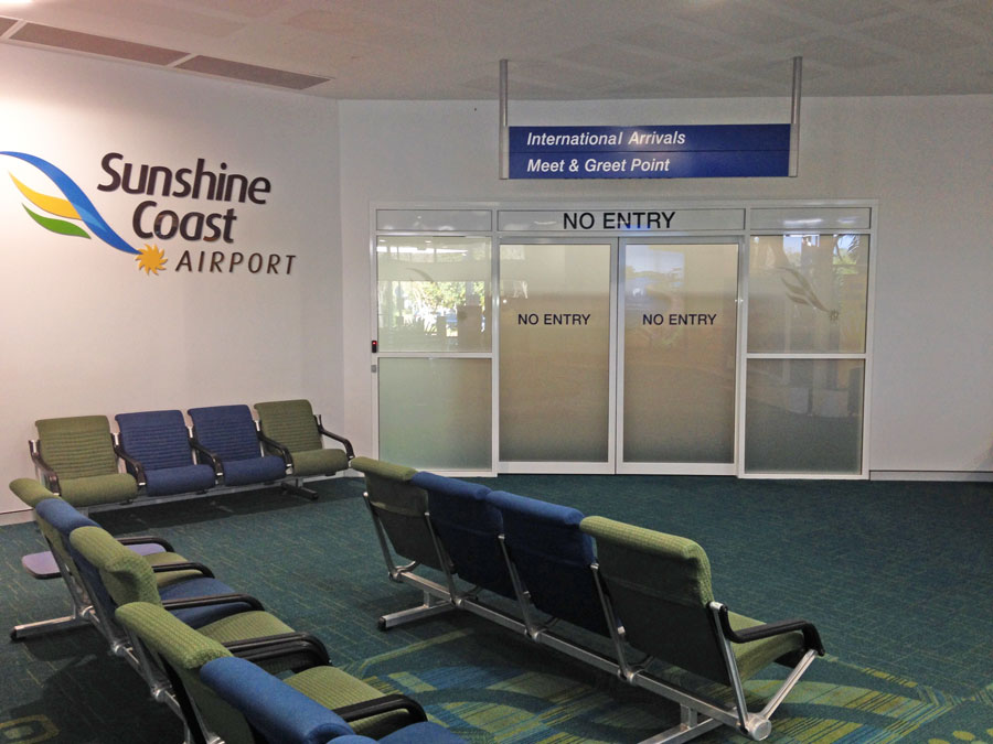 Sunshine Coast Airport Amos Electrical client